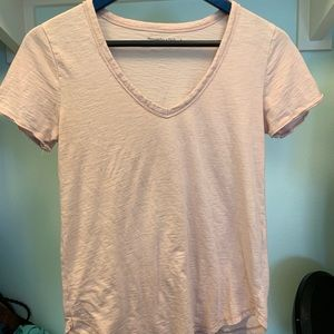 Abercrombie & Fitch soft AF v neck size small
